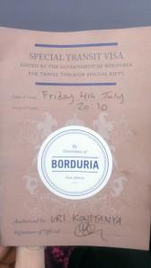 I now have dual nationalisty Bordurian.British