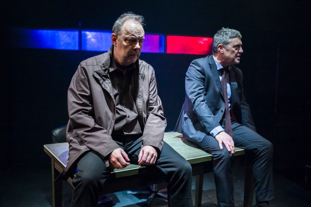 A Steady Rain 1 David Schaal  and Vincent Regan Photos Nick Rutter