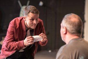 Blue on Blue, Tristan Bates Theatre - Daniel Gentely and Darren Swift © Gavin Watson
