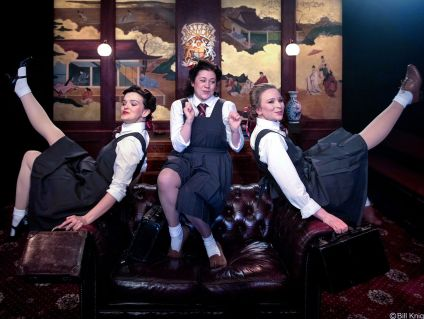 THE MIKADO Alys Roberts (Yum-Yum) Jessica Temple (Pitti-Sing) Corinne Cowling (Peep-Bo) Photo Bill Knight_preview