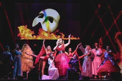1 WEST END EUROVISION WINNERS! The Phantom of the Opera perform RISE LIKE A PHOENIX Photo Darren Bell_preview